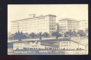 RPPC SAWTELLE CALIFORNIA SOLDIERS HOME DVS HOSPITAL REAL