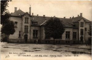CPA AK COLMAR - 152* Rég. d'Inf. - Caserne Mahler - Cantine (740129)