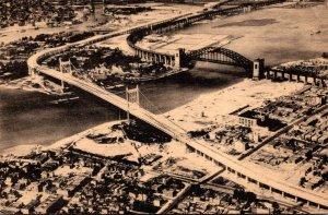New York City The Triboro Bridge 1938