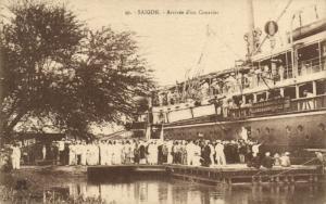 CPA Vietnam Indochine COCHINCHINE Saïgon - Arrivée d'un Courrier (62174)