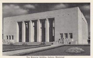 JACKSON , Mississippi, 40-60s; War Memorial Building