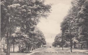 DERBY LINE , Vermont , 1900-10s ; Derby Line Street