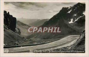 Postcard Old New Route du Galibier The Combeynol (3156)