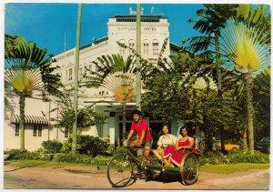 Trishaw, SINGAPORE, used Postcard