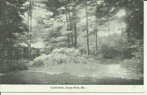 Ocean Park, Me., Guild Park