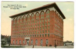 New Central Y. M. C. A. Prospect Avenue and East 22nd. Street, Cleveland, Ohi...