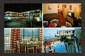 NJ Athens II  Motel Pool NORTH WILDWOOD NEW JERSEY PC