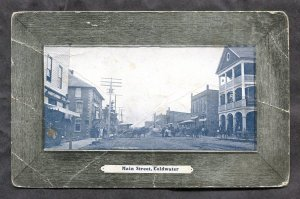 dc1156 - COLDWATER Ontario 1912 Main Street. Antique Postcard