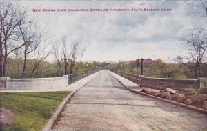 New Bridge Over Minnehaha Creek At Minnesota State Solders Home Minneapolis M...