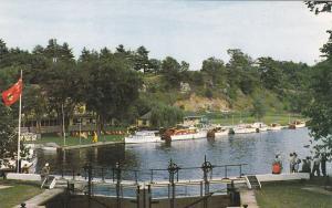 JONES FALLS, Ontario, Canada, 1960's; Hotel Kenney, Rideau Lakes