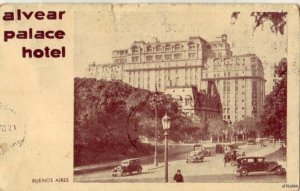 ALVEAR PALACE HOTEL BUENOS AIRES, ARGENTINA 1937