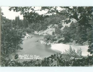 Pre-1950 rppc NICE VIEW Redcrest & Loleta & Fortuna & Rio Dell CA i9998