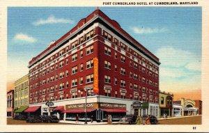 Maryland Cumberland Fort Cumberland Hotel