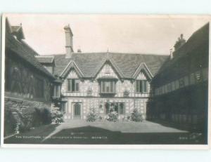 old rppc NICE VIEW Warwick - Warwickshire - England UK i3466