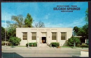 Greetings From Siloam Springs,AR,USPost Office