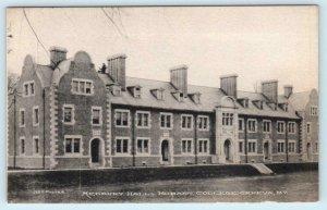 GENEVA, New York NY ~ Medbery Hall HOBART COLLEGE Albertype Postcard