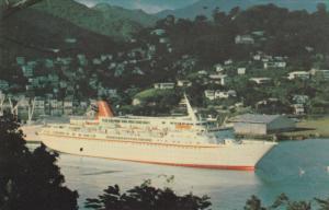 Oceanliner/Steamer/Ship, M. V. Cunard Princess, PU-1977
