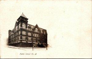 Vtg 1900s Public School No. 28 Wilmington Delaware DE Postcard