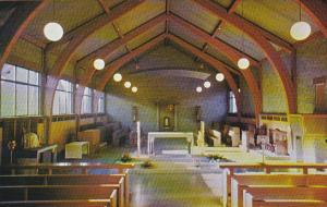 Canada Westminster Abbey Interior Refectory Mission City British Columbia