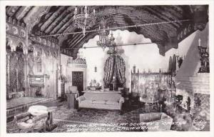 California Death Valley The Music Room At Scottys Castle Real Photo
