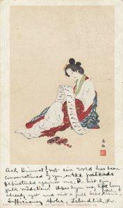 GEISHA , JAPAN , 1904