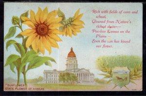 Sunflower State Flower of Kansas BIN