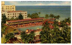 Floriida  Miami Beach  Roney Plaza Cabana Sun Club