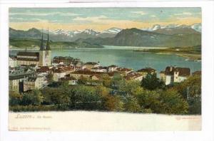 LUZERN u. die Alpen , Switzerland, 00-10s