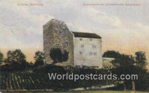 Schloss Habsburg Germany, Deutschland Postcard Stammschloss des Osterreichisc...