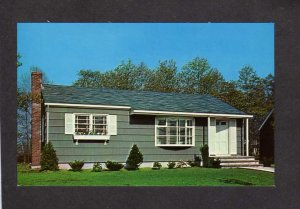 NY Waltess Estates Houses Development Ronkonkoma New York Advertising card