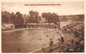 Bay of Colwyn Swimming Pool, Rhos on Sea