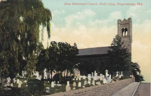 HAGERSTOWN, Maryland, 1900-10s; Zion Reformed Church & Graveyard