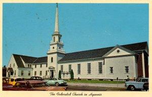 MA - Cape Cod, Hyannis. The Federated Church