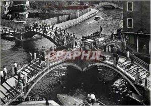 Modern Postcard Venezia The Three Bridges