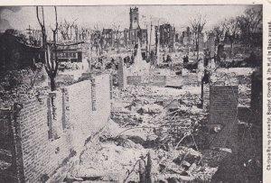 CHELSEA, Massachusetts, PU-1908; Chelsea Ruins, First Baptist Church, City Hall
