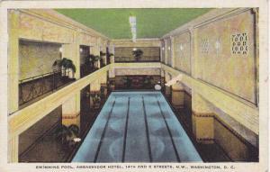 Swimming Pool, Ambassador Hotel, 14th and K Streets, N.W., Washington, Distri...