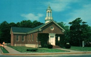 Rehoboth Beach Delaware Westminster Presbyterian Church Postcard