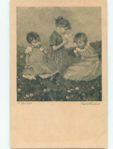 Divided-Back CHILDREN SCENE Great Postcard AA6130