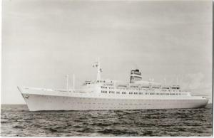 s.s. Statendam Ship Nautica Real Photo Postcard 01.21