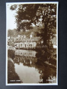 Wiltshire CASTLE COMBE - Old RP Postcard by Walter Scott 11090