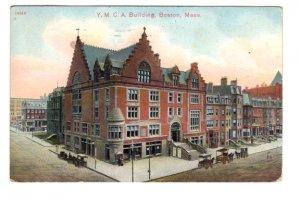 YMCA Building, Boston Massachusetts, Used 1909 Flag Cancel