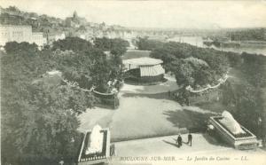 France, Boulogne Sur Mer, La Jardin du Casino CPA early 1...