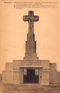 Belgium Dixmude Monument Calvary Erected in Honour of the Heroes Postcard