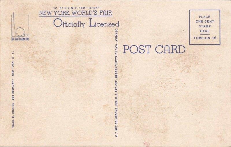 New York World's Fair 1939 Japanese Pavilion Curteich sk1946