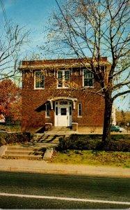 New Jersey Midland Park Municipal Building 1961