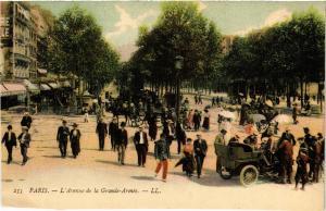 CPA PARIS (17e) l'Avenue de la Grande-Armee (539261)