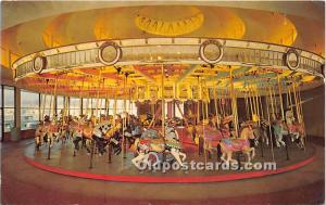 Santa Cruz, California, CA, USA Postcard Santa Cruz Beach Boardwalk Merry Go ...