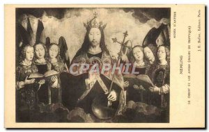 Postcard From Old Memling Museum Antwerp Christ And Angels