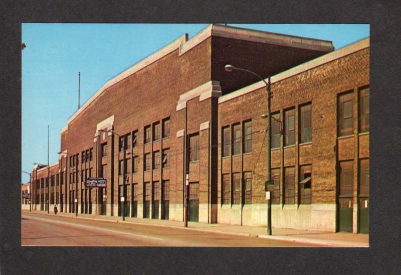 IL Amphitheatre Convention Hall Stock Expo Chicago Illinois Postcard