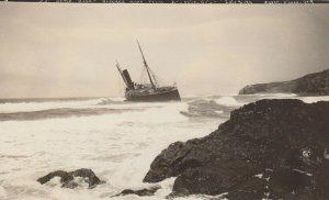 RP: Shipwreck of S.S. Santa Rosa , HONDO , California , 1911